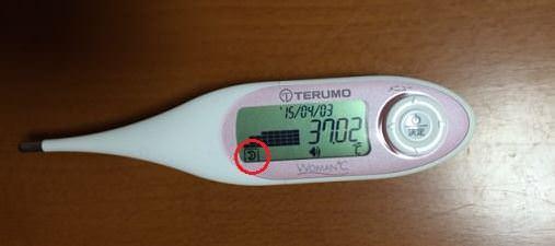 テルモの基礎体温計