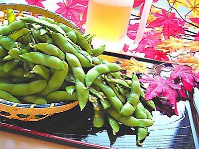 レシピ枝豆
