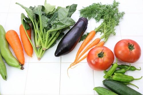 葉酸を含む野菜の画像