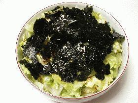 焼き海苔のサラダ画像